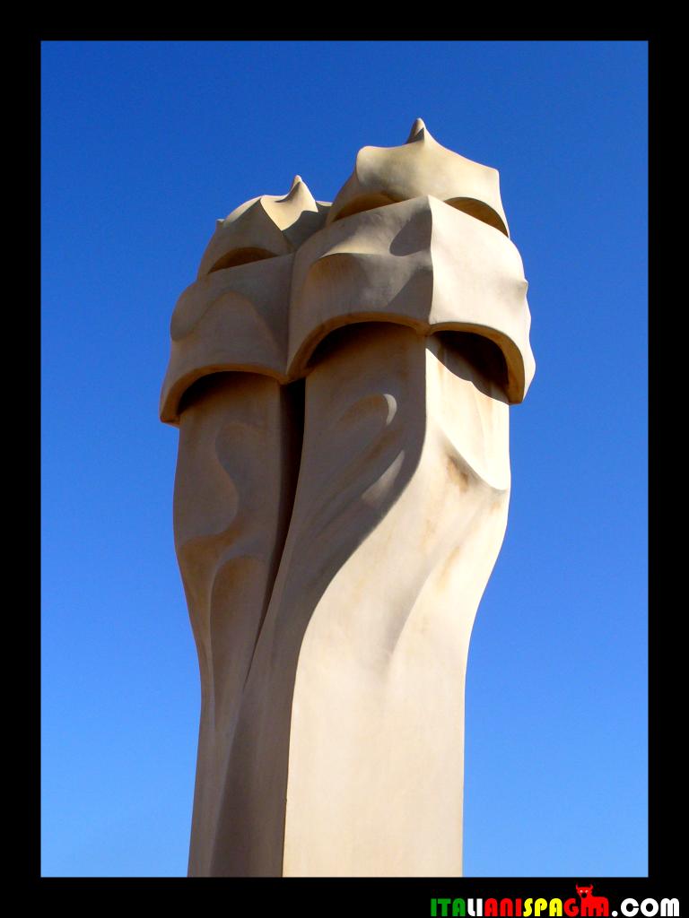 La Foto della Settimana: le bizzarrie di Casa Milà a Barcellona!