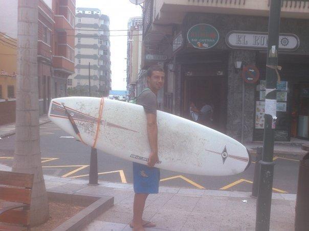 Marco, un Erasmus a Las Palmas