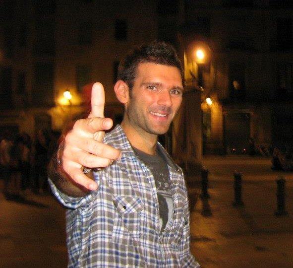 Gioacchino, ricercatore a Barcellona