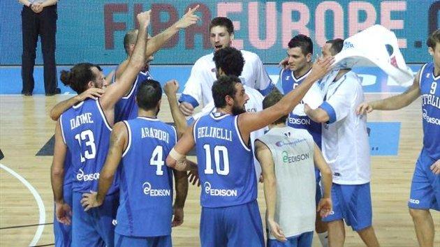 Europeo di basket: Italia – Spagna