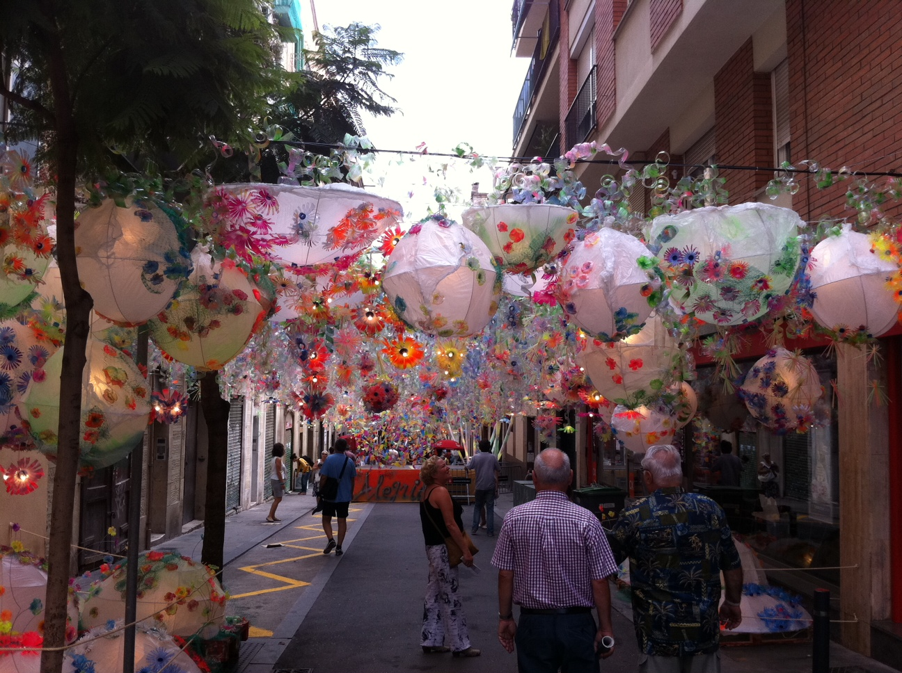 Gr cia festival barcellona italiani spagna for Quartiere gracia barcellona