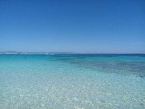 Il mare delle Isole Baleari