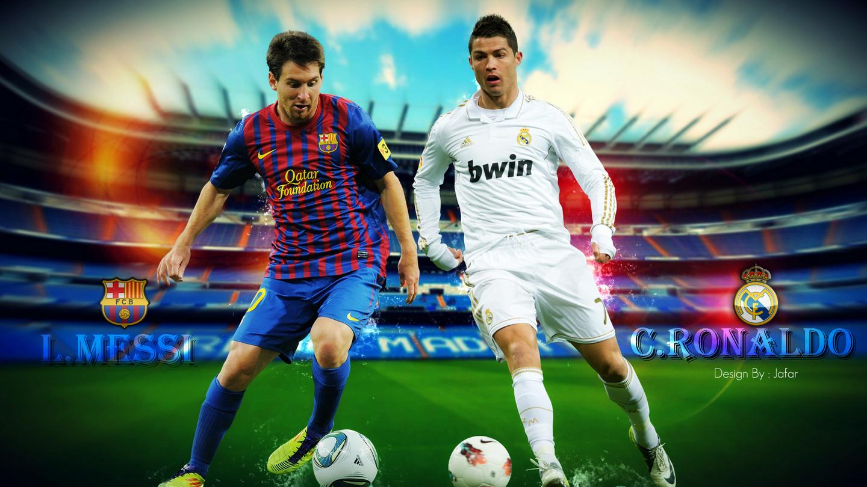 Cristiano Ronaldo e Leo Messi star della Liga spagnola