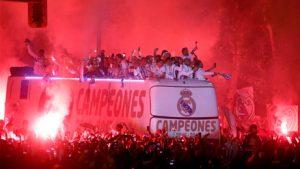 Real Madrid campione della Liga spagnola 2016/172016 17