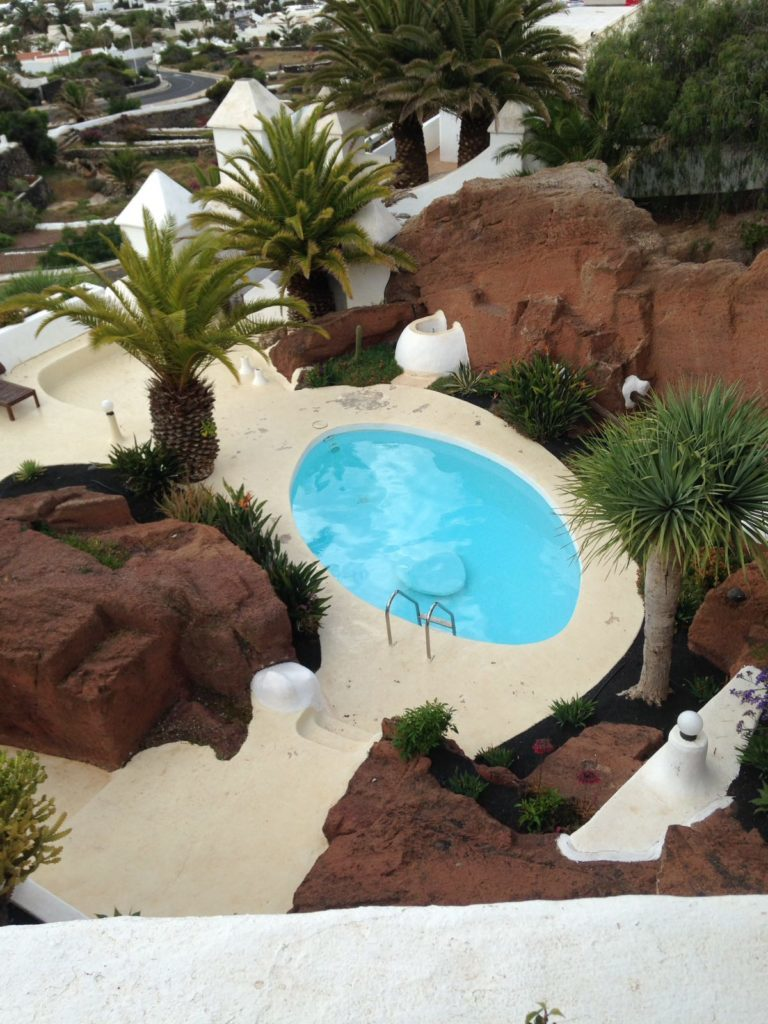 Cosa vedere a Lanzarote - villa con piscina